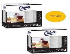 crystal wine glass kitchen dining u0026 bar glassware ebay