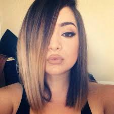 brown and blonde ombre with a line hair cut top ombre hair colors for bob hairstyles popular haircuts