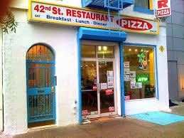 42nd st restaurant