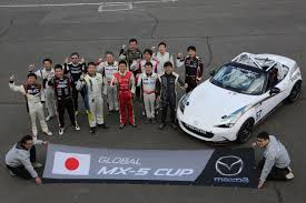 japanese race cars mz racing mazda motorsport 10 cars participate in global mx 5