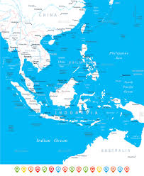 Map Southeast Asia by Southeast Asia Map And Navigation Icons By Dikobrazik Graphicriver
