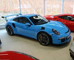 porsche gtr 2017 porsche 991 gt3 rs in the great looking color miami blue cars