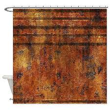 Colored Shower Curtain Shower Curtains Rust Colored Shower Curtain Lined Rusted