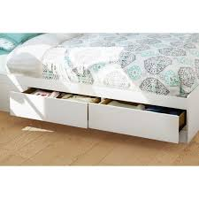 Bookcase Storage Beds Vito White Queen Storage Bed With Bookcase Headboard Dcg Stores