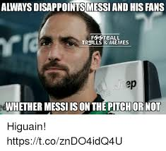 Ls Memes - alwaysdisappointsmessiand his fans f setball tre ls memes