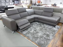 Grey Leather Reclining Sofa Natuzzi Leather Reclining Sofa Editions Alessandro Perfect Reviews