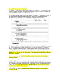 wppsi iv report template 8 cognitive template wppsi iv ages 4 0 7 7