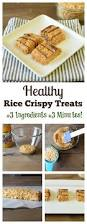3 minute and 3 ingredient rice crispy treats recipe healthy