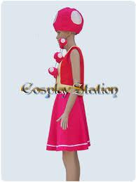 Toadette Halloween Costume Nintendo Toadette Cosplay Costumes Nintendo Toadette Commission