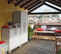 armadietto da balcone armadio da esterno arredo giardino