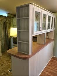 Mobile Home Kitchen Makeover - rustic cabin mobile home kitchen makeover single wide kitchens