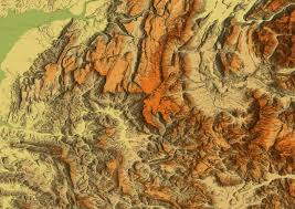 Relief Map Of Usa by Shaded Relief Maps And Hillshading For Topo Maps And Satellite Images