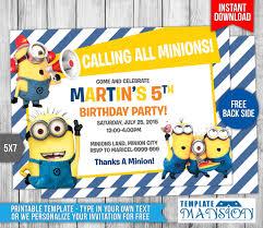 wwe birthday invitation templates minions birthday invitation u2013 gangcraft net
