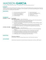 receptionist resume templates best receptionist resume exle livecareer