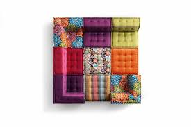 canap composable mah jong sectional fabric sofa mah jong missoni home by roche bobois design