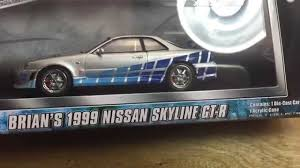 nissan skyline fast and furious greenlight 1 43 nissan skyline fast and furious review youtube