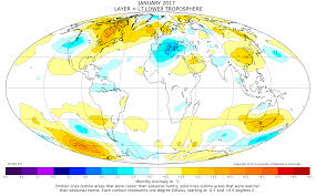 United States Temp Map by Global Temperature Report January 2017 Watts Up With That