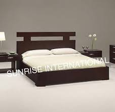double bed new wooden indian king size double bed with storage under the