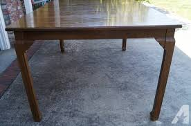 davis cabinet company dining room table antique penn table company walnut dining table and chairs for sale