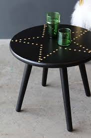 black and gold side table black gold star studded side table from rockett st george