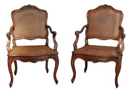 Louis Xv Armchairs Pair Of Armchairs Louis Xv 18th Century Ref 64469