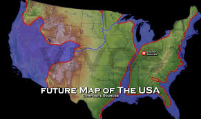 World Map Of The United States by Us Navy Map Of Future America Future Map Of The United States