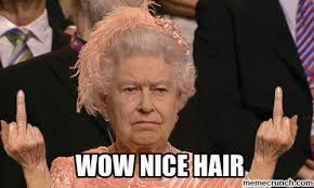 Nice Hair Meme - wow nice hair