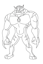 ben 10 omniverse coloring pages draw 5953
