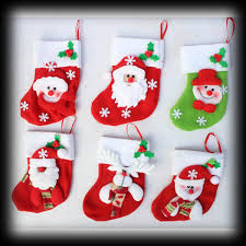 Christmas Stocking Tree Decoration by High Quality Cute Christmas Stocking Buy Cheap Cute Christmas