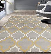 Trellis Rugs Sweet Home Stores Clifton Collection Light Grey Moroccan Trellis