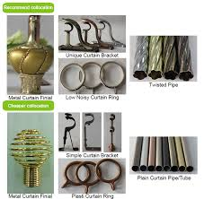 Decorative Curtain Finials 2015 New Design Home Decoration Curtain Rod With Gold Crown