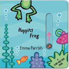 amazon com hoppity frog a slide and seek book 9781499800302