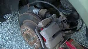 changing the rear disc brakes 04 malibu maxx youtube