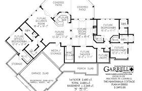 ranch with walkout basement floor plans house plan walkout basement plans ranch with rustic modern