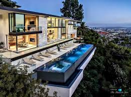 house plans with pool a modern california house with spectacular views photo on