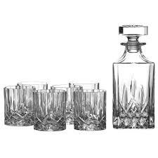 Old Fashioned Gift Set Royal Doulton Crystal Decanter Gift Set U0026 6 Glasses 79 99