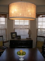 Large Drum Light Fixture by The Keylor Family