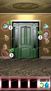100 doors level 59 game solver