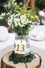 jar wedding decorations wedding jam jars table numbers the wedding of my dreams