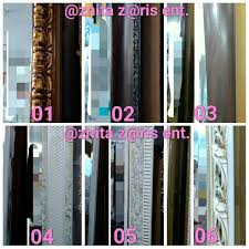 Cermin Brown cermin dinding home furniture home d礬cor on carousell