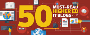Design Bloggers At Home by The 2016 Dean U0027s List Edtech U0027s 50 Must Read Higher Ed It Blogs