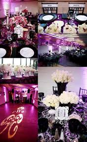 black and white wedding decorations true wedding story our purple black and white wedding