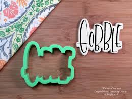 thanksgiving cookie cutters gobble 2 cookie cutter thanksgiving cookie cutter hand lettered