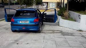 pergut car peugeot 206 car audio performance youtube