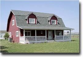 Gambrel Roof Barns Gambrel Roof Barn House Www Livinginsmallhouses Com Flickr