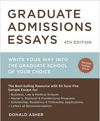 This is the best selling guide to the graduate admissions process  and has been for over a decade  Learn the secrets of successful graduate school     Asher Associates