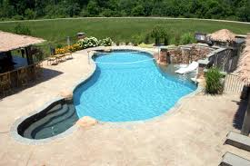 fresh pool stamped concrete patio design ideas best to pool