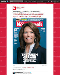 Michele Bachmann Meme - update michele bachmann newsweek queen of rage cover causes