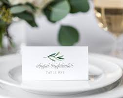 Place Cards Wedding Wedding Place Cards Etsy