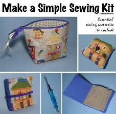 threading my way make a simple sewing kit